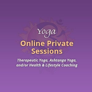 Yoga Online Private Sessions - Advanced