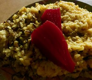 Photo From: Yellow Curry Basmati with Quick Pickled Beets