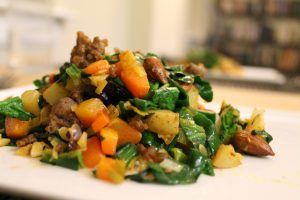Photo From: Cooked Spinach with Pine Nuts