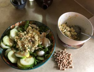 Photo From: Mock Tuna Salad — Vegetarian Chick Pea Sandwich Filling
