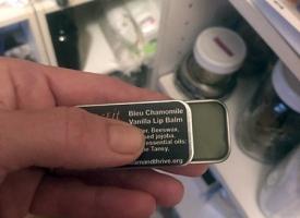 Bleu Chamomile Vanilla Lip Balm